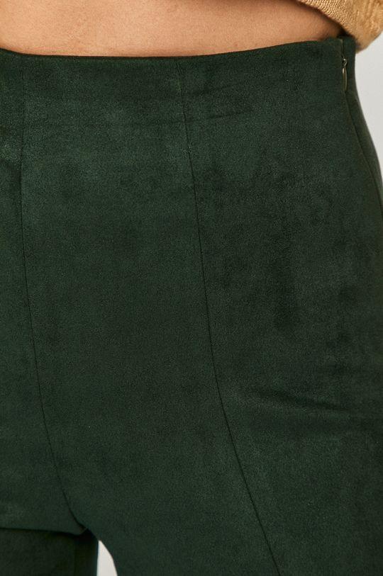 zielony Vero Moda - Spodnie