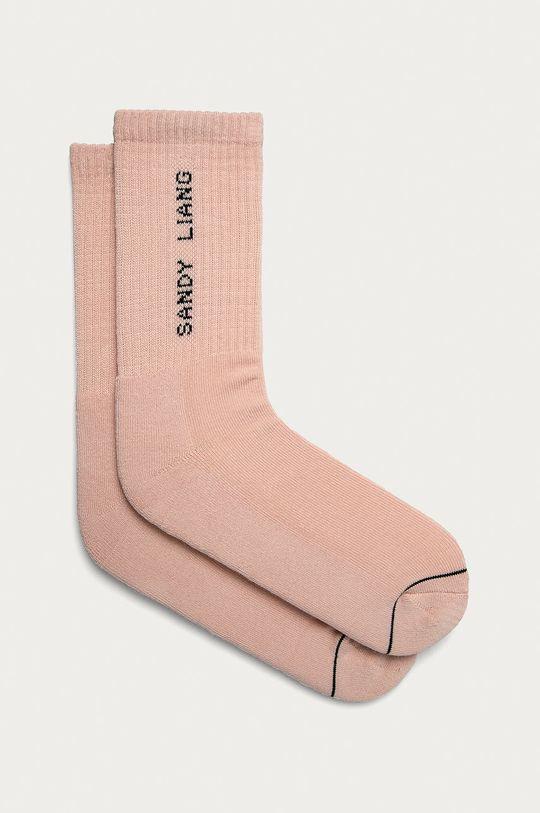 pastelově růžová Vans - Ponožky Dámský