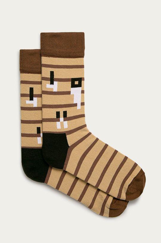 vícebarevná Happy Socks - Ponožky x Minecraft Dámský