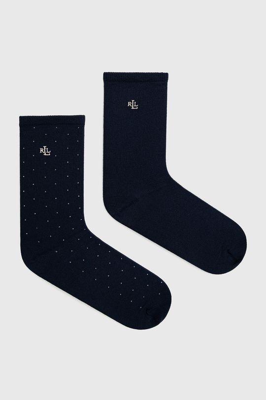 námořnická modř Lauren Ralph Lauren - Ponožky (2-pack) Dámský