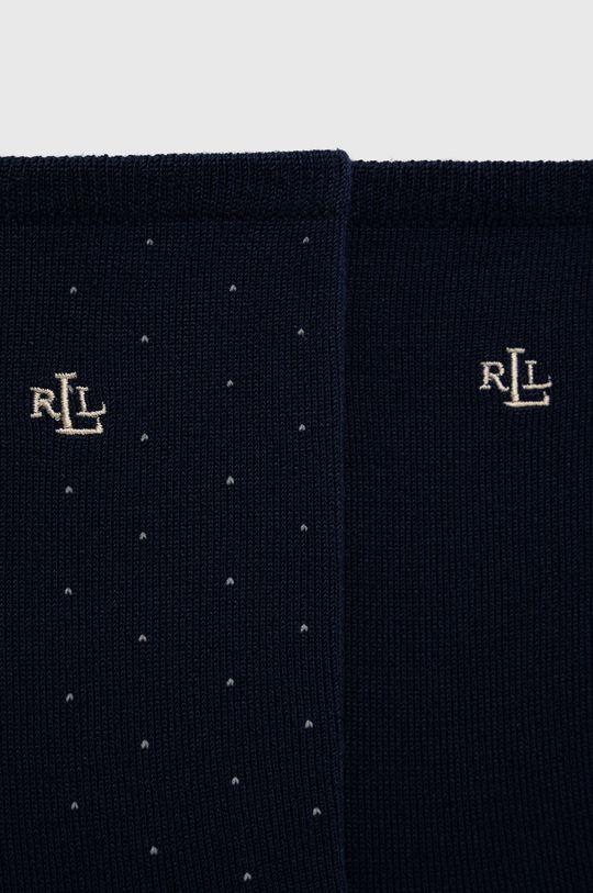 Lauren Ralph Lauren - Ponožky (2-pack) námořnická modř
