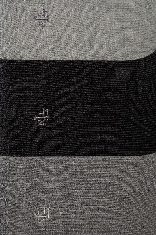 Lauren Ralph Lauren - Ponožky (3-pack) šedá