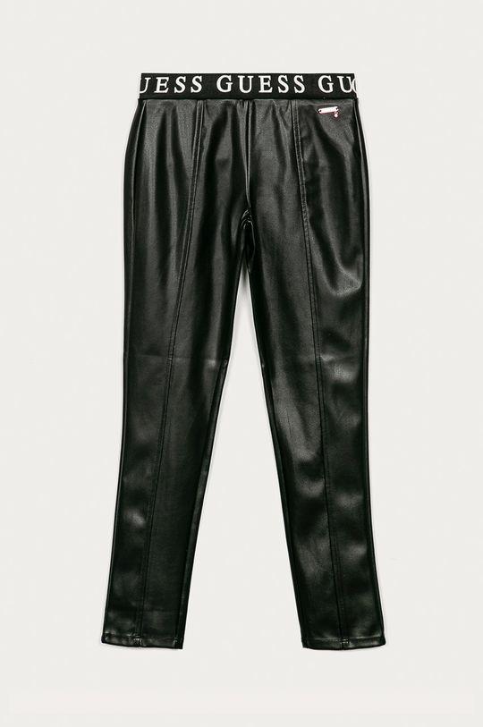 čierna Guess Jeans - Detské nohavice 116-175 cm Dievčenský