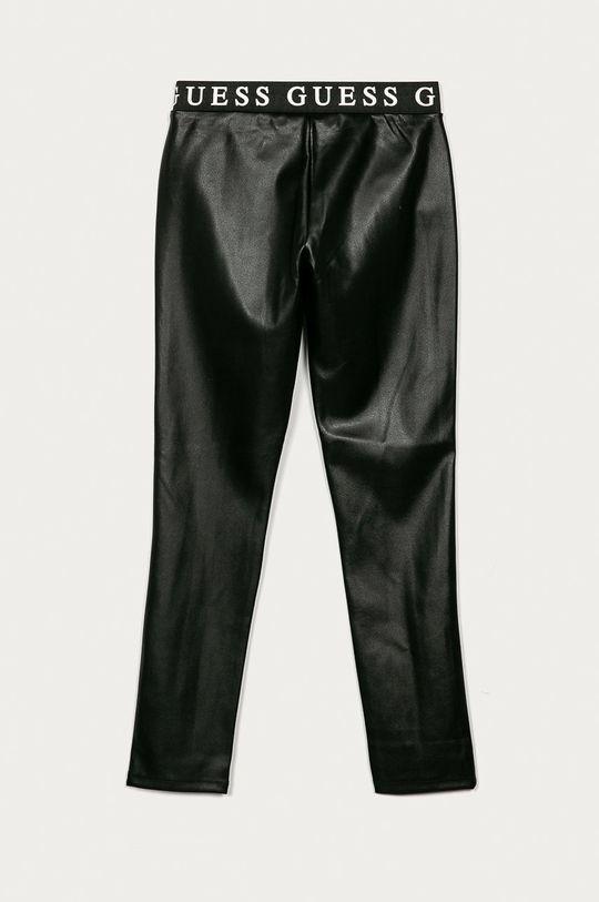 Guess Jeans - Detské nohavice 116-175 cm čierna