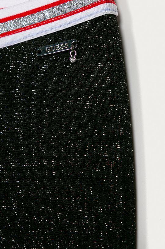 Guess Jeans - Dětské legíny 116-175 cm černá