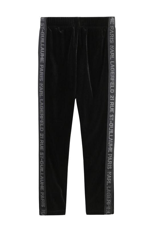 černá Karl Lagerfeld - Dětské kalhoty Dívčí