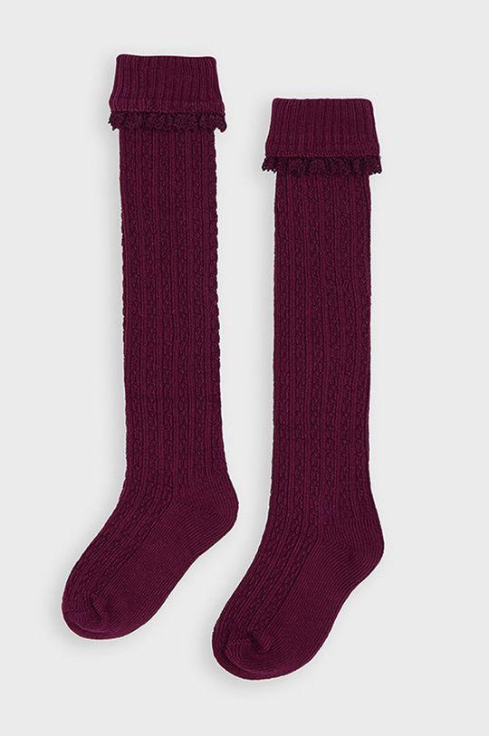 gaštanová Mayoral - Detské ponožky Dievčenský