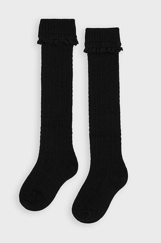 čierna Mayoral - Detské ponožky Dievčenský