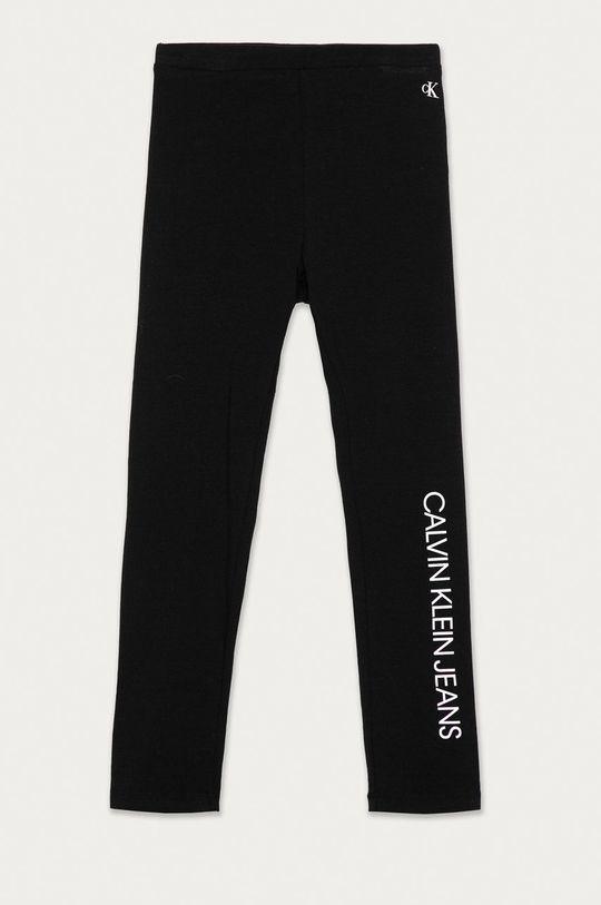 czarny Calvin Klein Jeans - Legginsy dziecięce 116-176 cm Dziewczęcy