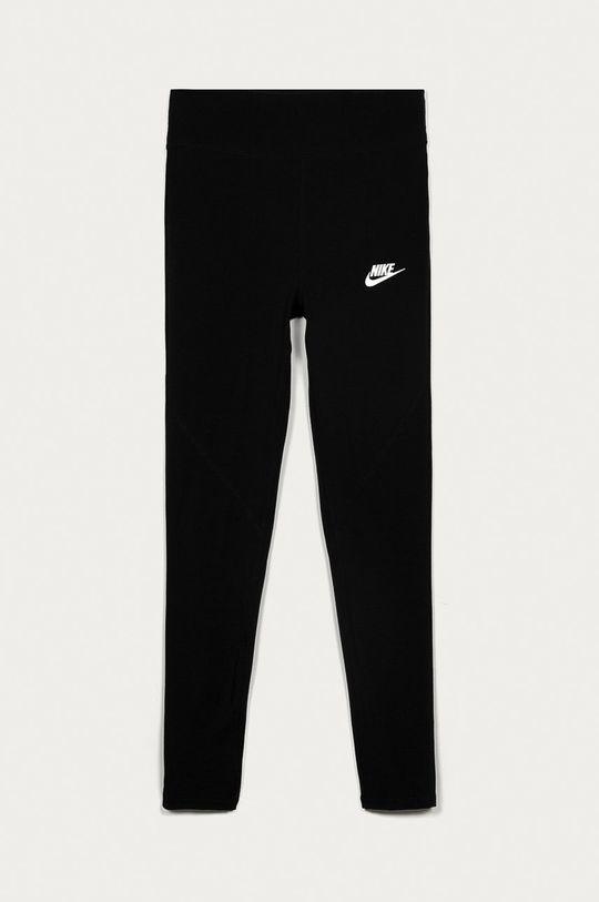 čierna Nike Kids - Detské legíny 122-166 cm. Dievčenský