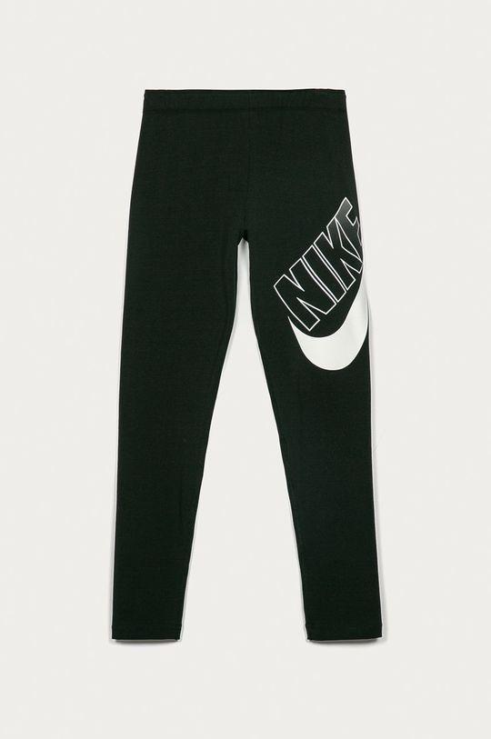 czarny Nike Kids - Legginsy dziecięce 122-166 cm Dziewczęcy