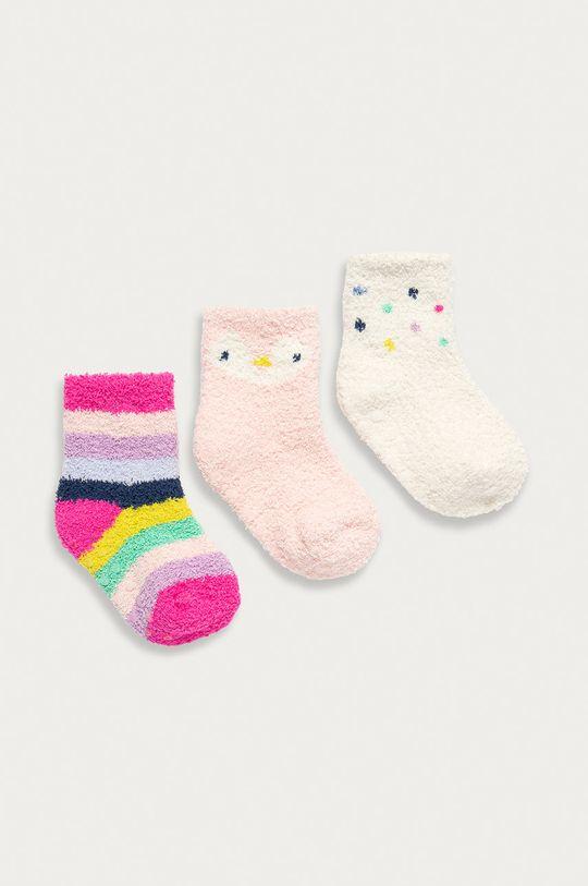 ružová GAP - Detské ponožky (3-pak) Detský