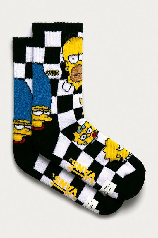 čierna Vans - Detské ponožky x The Simpsons Detský