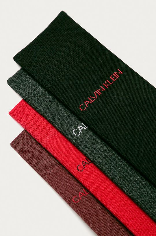 Calvin Klein - Skarpetki (4-pack) szary