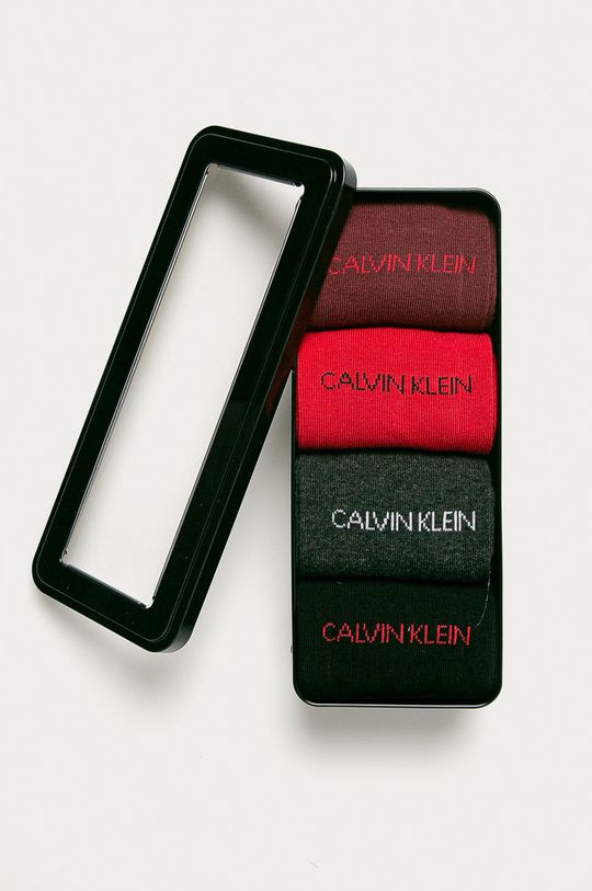 Calvin Klein - Skarpetki (4-pack) 74 % Bawełna, 2 % Elastan, 20 % Poliamid, 4 % Inny materiał
