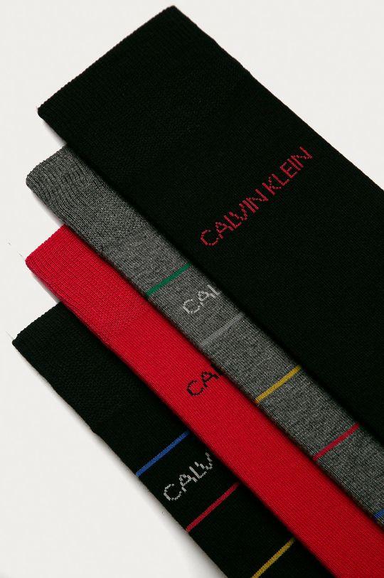 Calvin Klein - Skarpetki (4-pack) czarny