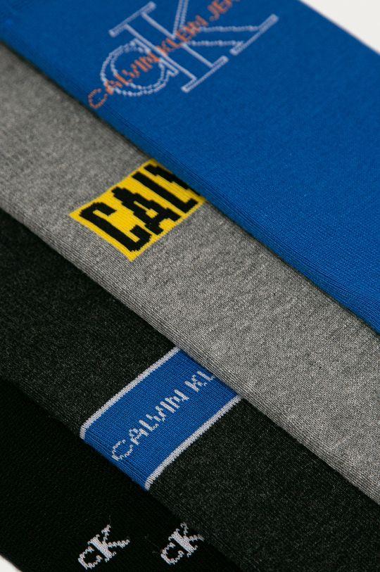 Calvin Klein - Ponožky (4-pak)  71% Bavlna, 3% Elastan, 21% Polyamid, 5% Polyester