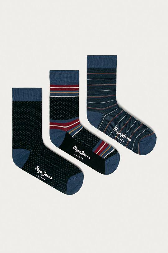 viacfarebná Pepe Jeans - Ponožky GARN (3-pak) Pánsky