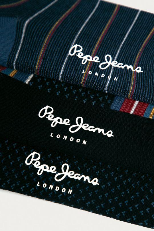 Pepe Jeans - Ponožky GARN (3-pak) viacfarebná