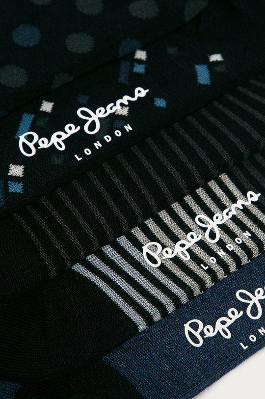 Pepe Jeans - Ponožky Elon (5-pak) tmavomodrá