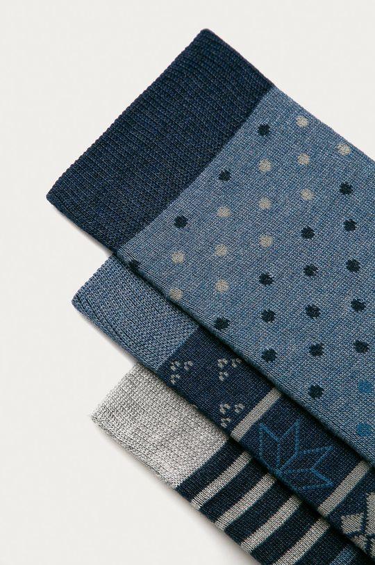 Pepe Jeans - Ponožky Roddy (3-pak) modrá