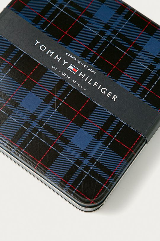 Tommy Hilfiger - Skarpetki (4-pack) 78 % Bawełna, 2 % Elastan, 20 % Poliamid