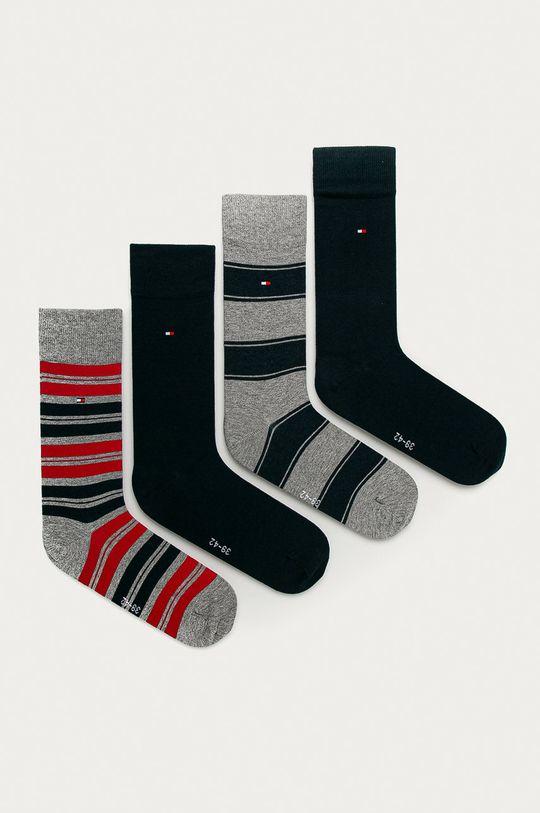 viacfarebná Tommy Hilfiger - Ponožky (4-pak) Pánsky