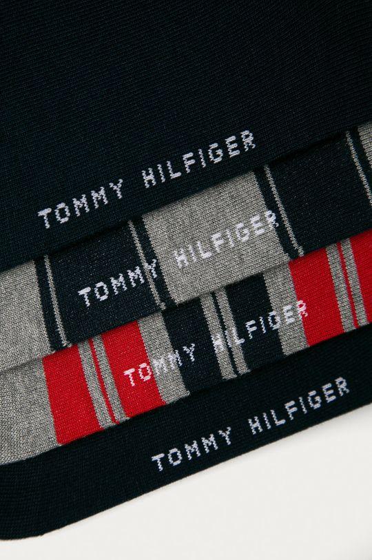 Tommy Hilfiger - Ponožky (4-pak)  78% Bavlna, 2% Elastan, 20% Polyamid