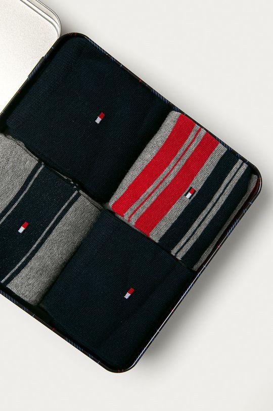 viacfarebná Tommy Hilfiger - Ponožky (4-pak)