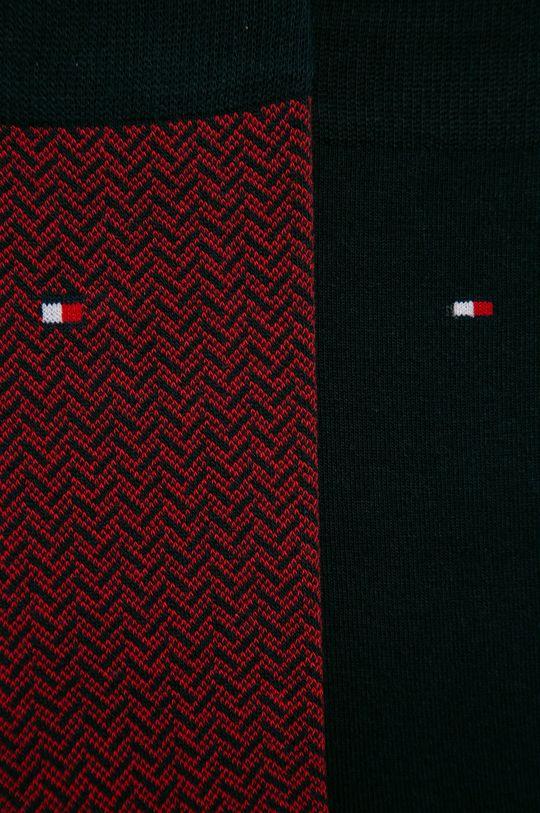 Tommy Hilfiger - Ponožky (2-pack) námořnická modř