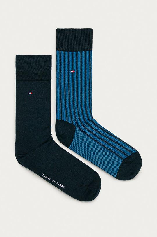 modrá Tommy Hilfiger - Ponožky (2-pak) Pánsky