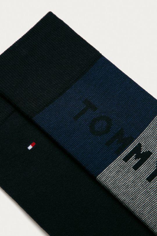 Tommy Hilfiger - Ponožky (2-pak) tmavomodrá