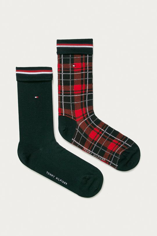 červená Tommy Hilfiger - Ponožky (2-pack) Pánský