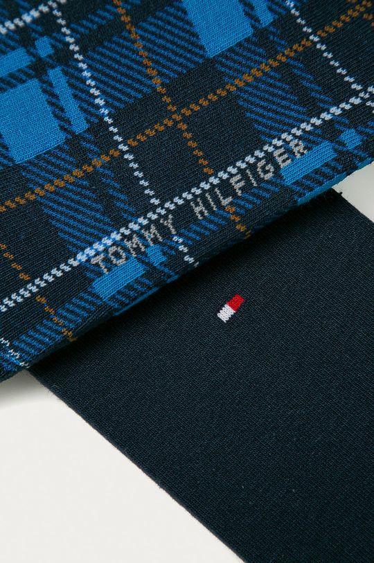 Tommy Hilfiger - Ponožky (2-pack) modrá