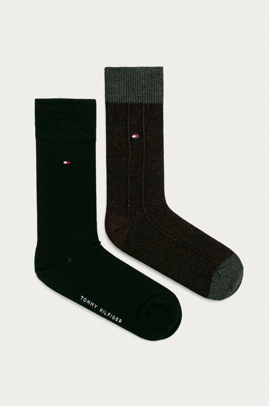 čierna Tommy Hilfiger - Ponožky (2-pak) Pánsky