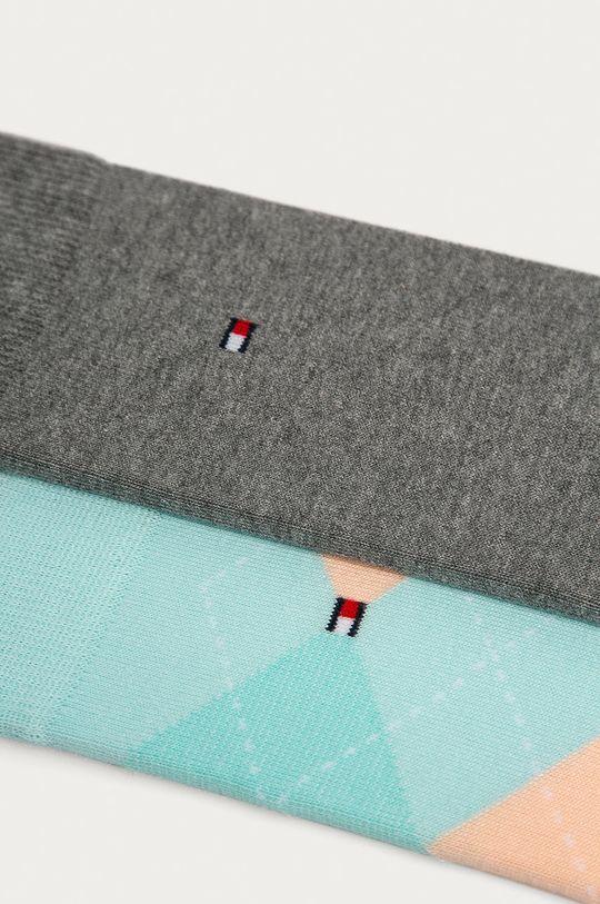 Tommy Hilfiger - Ponožky (2-pack) mátová
