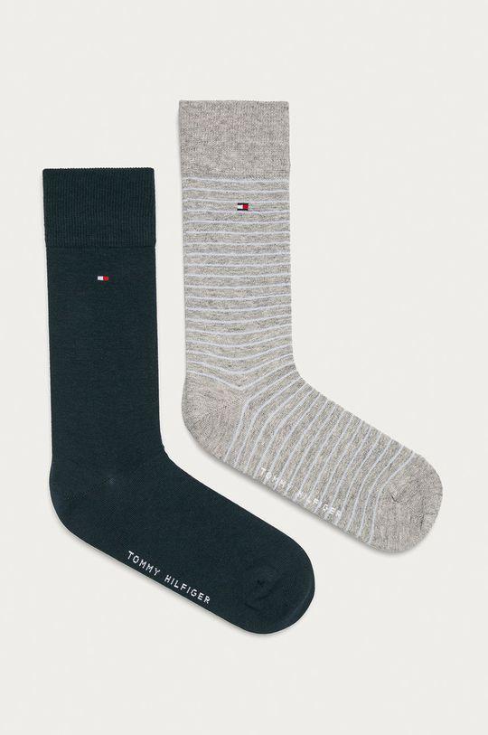 svetlosivá Tommy Hilfiger - Ponožky (2-pak) Pánsky