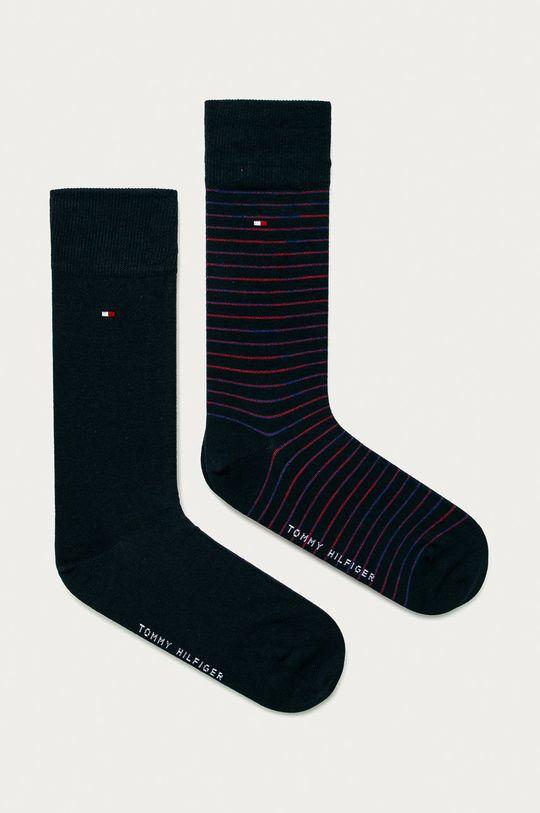 tmavomodrá Tommy Hilfiger - Ponožky (2-pak) Pánsky