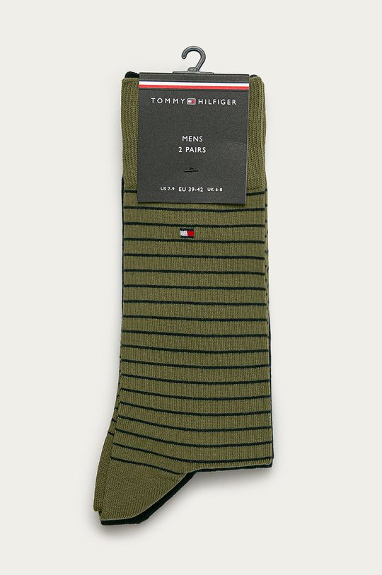 Tommy Hilfiger - Ponožky (2-pak)  75% Bavlna, 2% Elastan, 23% Polyamid