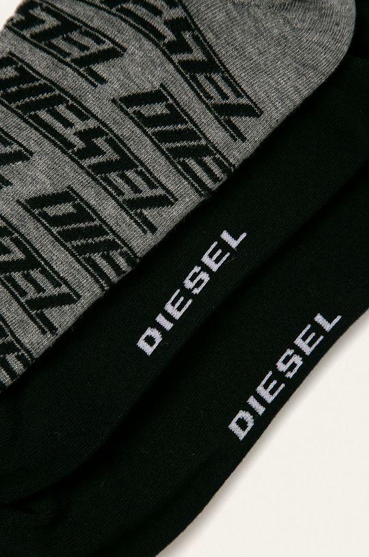 Diesel - Ponožky (3-pack) černá