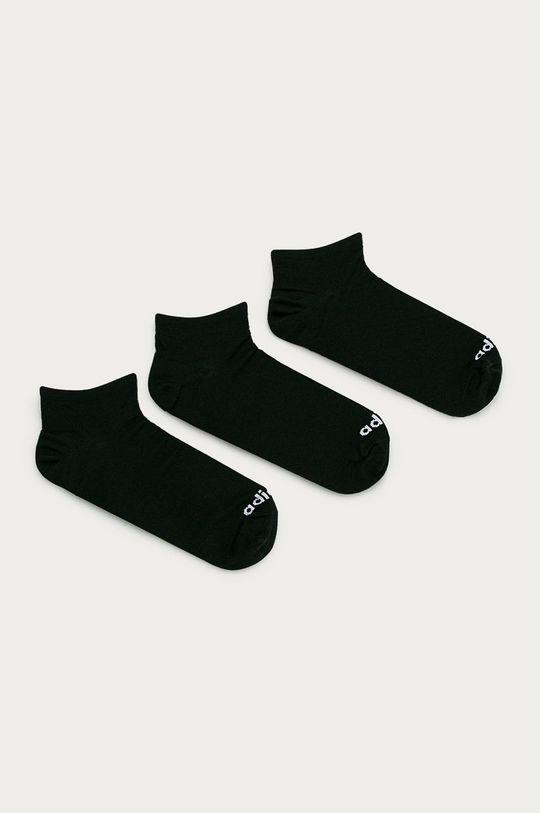 czarny adidas - Stopki (3-pack) Męski