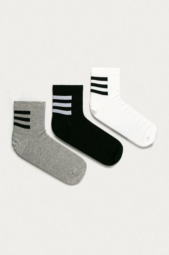 viacfarebná adidas - Ponožky (3-pak) Pánsky