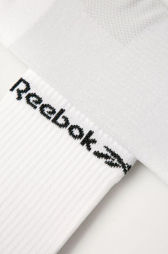 Reebok - Ponožky (3-pak) biela