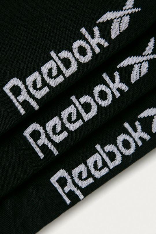 Reebok - Kotníkové ponožky (3-pack) černá