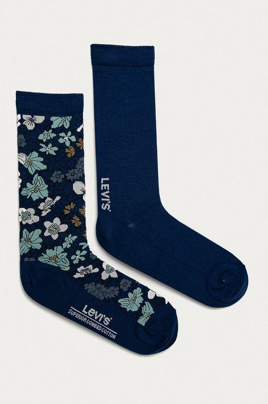 modrá Levi's - Ponožky (2-pak) Pánsky