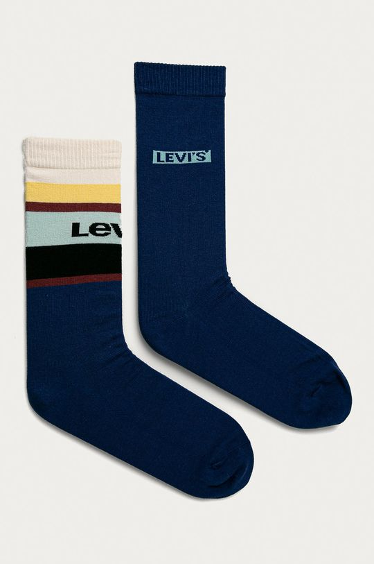 albastru Levi's - Sosete (2-pack) De bărbați