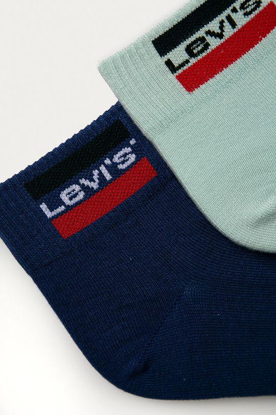 Levi's - Sosete (2-pack) albastru