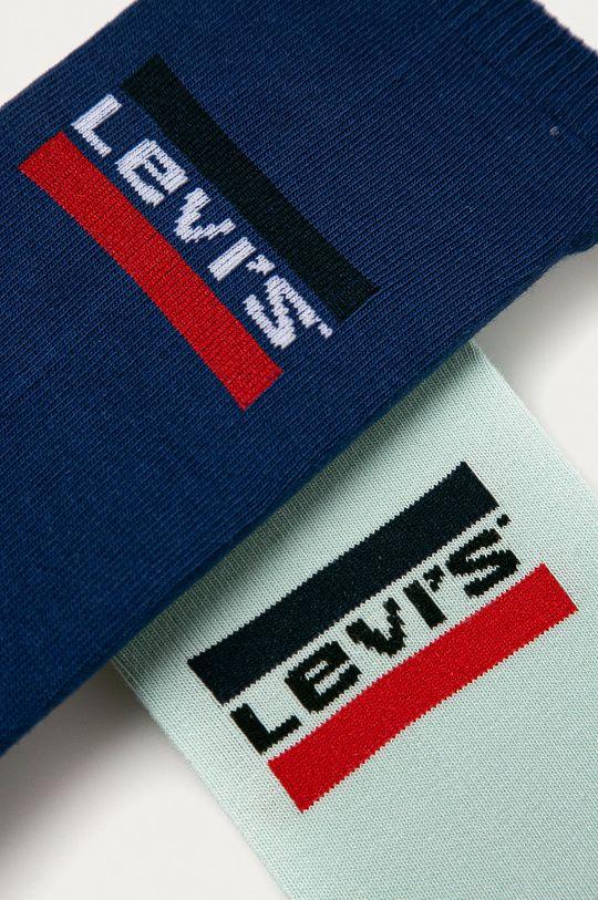 Levi's - Sosete scurte (2-pack) bleumarin