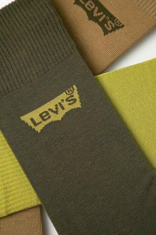 Levi's - Ponožky (3-pak) zelená