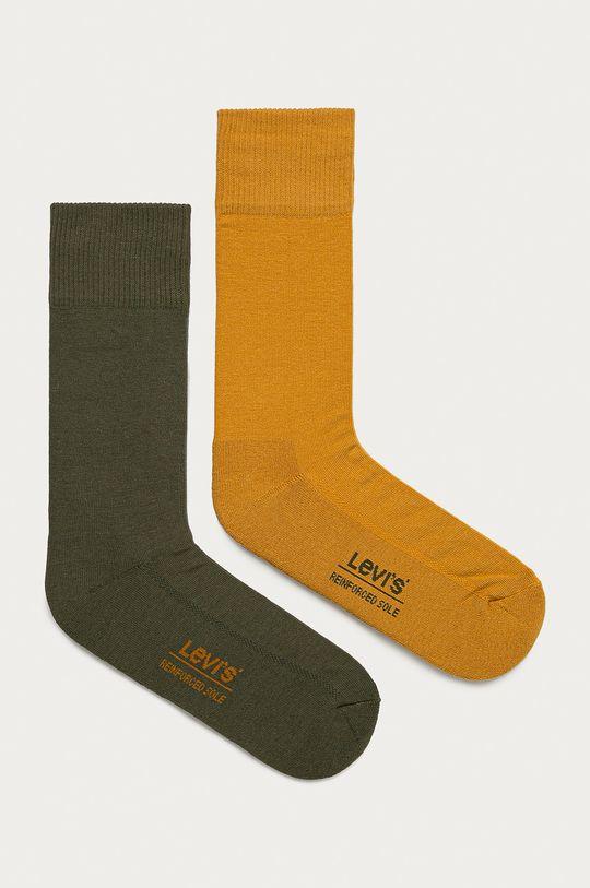 zelená Levi's - Ponožky (2-pak) Pánsky